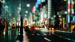 Blurry-City-Night-Photography-Wallpaper